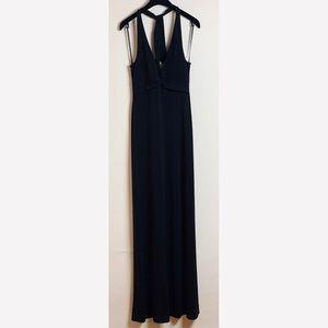 BCBG MAXAZRIA BLACK MAXI DRESS